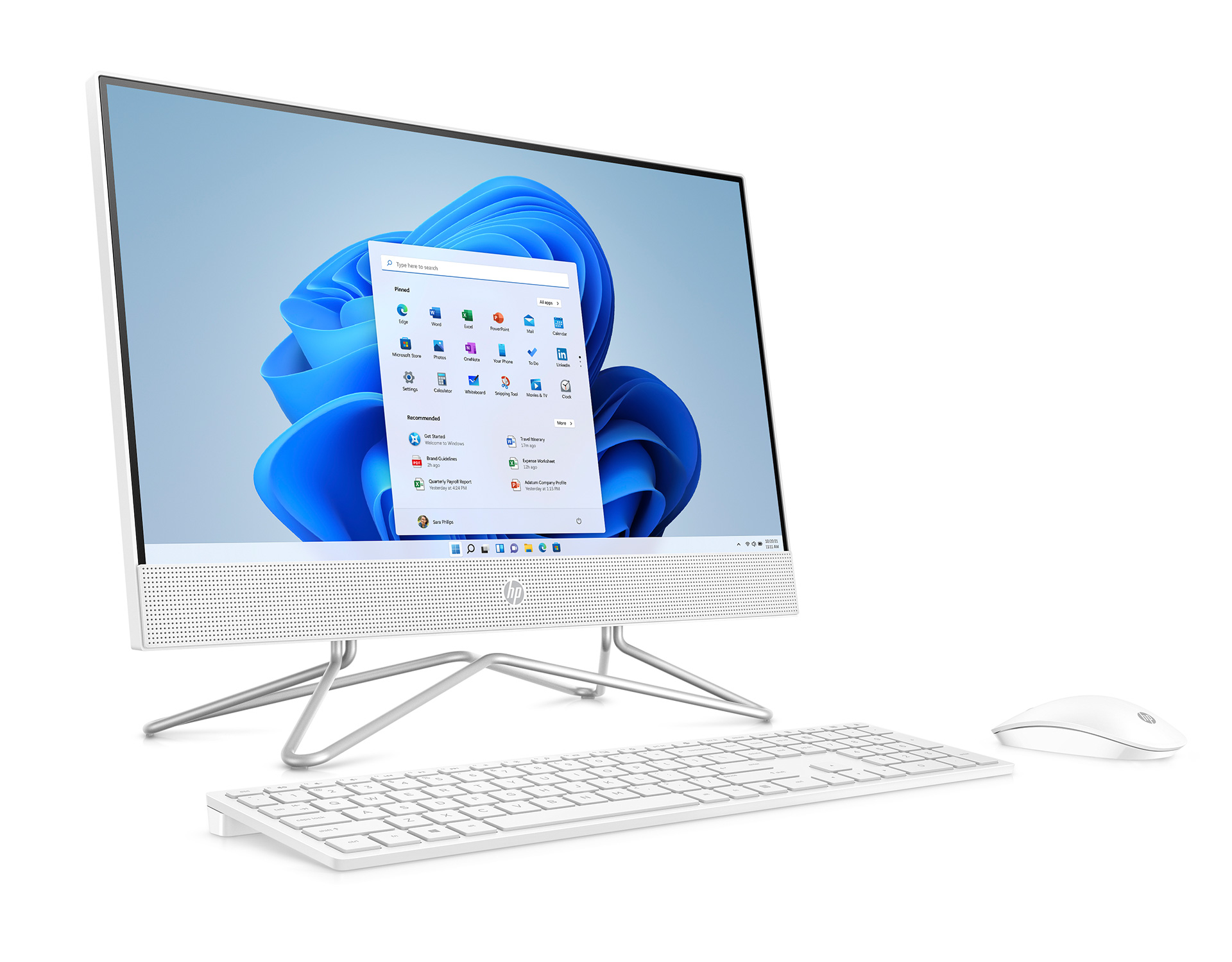 HP All-in-One 22-df0000jp(インテル)
