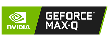 NVIDIA® Geforce® Max-Q